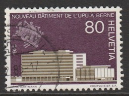 Switzerland 1970 Anniversaries 80 C Multicoloured SW 916 O Used - Switzerland