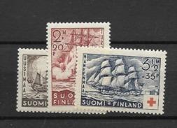 1936 MNH Finland, Postfris** - Finland