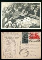 ROMANIA - BRASOV - MUNTII BUCEGI - 1954 - Postmark Collection