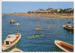{78807} 33 Gironde Arcachon , Perspective Sur La Plage ; Animée , Bateau , Pédalo - Arcachon