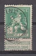 110 Gestempeld INCOURT - COBA 8 Euro - 1912 Pellens