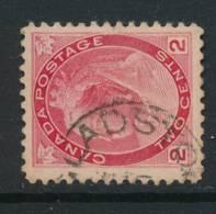 CANADA, 1898 2c With Postmark GLADSTONE  (Manitoba) - 1851-1902 Regering Van Victoria