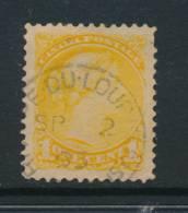 CANADA, 1889 1c (2nd Ottawaw Print) Postmark RIVIERE DU LOUP (Quebec) - 1851-1902 Regering Van Victoria