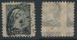 CANADA, 1882 ½c Variety Printed On Back (kiss Print) - 1851-1902 Regering Van Victoria