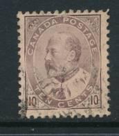CANADA, 1903 10c Brown-lilac, Cat £26 - 1903-1908 Regering Van Edward VII