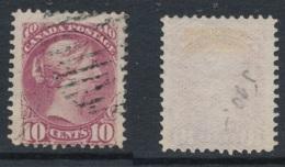 CANADA, 1870 10c Lilac-magenta,Montreal Print,very Fine, SG87, Cat £55 - 1851-1902 Regering Van Victoria