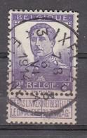 117 Gestempeld IXELLES - ELSENE 3 A - Cote 22,50 - 1912 Pellens