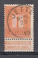 108 Gestempeld JETTE - COBA 6 Euro - 1912 Pellens
