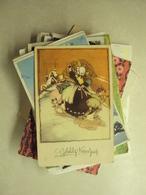 L 213 - MOOI LOT VAN 100 OUDE POSTKAARTEN KERSTMIS EN NIEUWJAAR - Cartes Postales