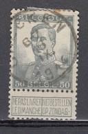 115 Gestempeld CALCKEN - COBA 8 Euro - 1912 Pellens
