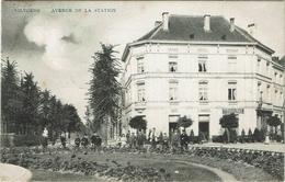 Vilvoorde Vilvorde Avenue De La Station Stationlei Grand Hôtel Restaurant Café L. Vangeel - Vilvoorde