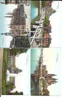 Nederland,  240 Ansichtkaarten, Klein Formaat, Zowel Zwart/wit Als Kleur, Gelopen En Niet Gelopen - Postcards