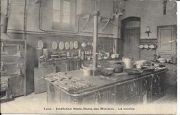 D69 - LYON - INSTITUTION NOTRE DAME DES MINIMES - LA CUISINE - Matériel De Cuisine - Lyon