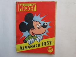Mickey  Almanach 1957  (etat) - Journal De Mickey