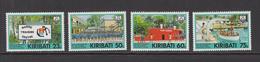 1992 Kiribati Marine Training Education Ships  Complete   Set Of 4 MNH - Kiribati (1979-...)