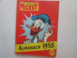 Mickey  Almanach 1958 - Journal De Mickey