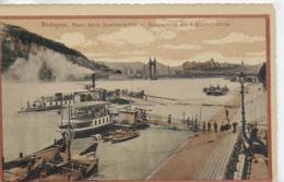 AK 0078  Budapest - Donauansicht Mit Der Elisabeth-Brücke Um 1917 - Ungarn