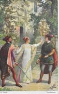 AK 0078  Rösler , Fr. -  G. Verdi ( Troubadour ) / Künstlerkarte Um 1910-20 - Malerei & Gemälde