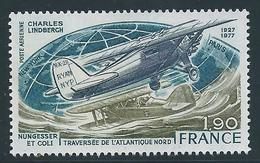FRANCE 1977 - YT PA N°50 - 1 F. 90 Bleu-vert, Olive Et Bleu-noir - Nungesser Et Coli - Neuf** - TTB Etat - 1960-.... Ungebraucht