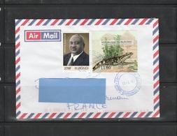 Z3] Enveloppe Cover Burundi NON Dentelé IMPERF Cactus Lézard Lizard - Sukkulenten