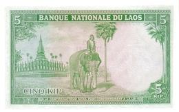 LAOS  P. 9a 5 K 1962 XF - Laos