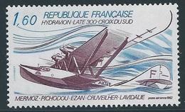 FRANCE 1982 - YT PA N°56 - 1 F. 60 Bleu Et Violet - Hydravion Laté 300 - Neuf** - TTB Etat - Poste Aérienne