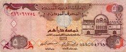 UNITED ARAB EMIRATES 5 DIRHAMS 2001  P-19 - Emirati Arabi Uniti