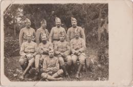 """Bs - Carte Photo Militaria """"groupe De Soldat Du 24éme"""" - Regiments"""