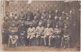 """Bs - Carte Photo Militaria """"groupes De Soldats Du 10ème"""" - Regiments"""
