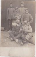 """Bs - Carte Photo Militaria """"groupes De Soldats Italiens ??"""" - Regiments"""