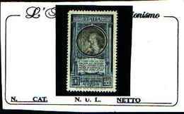 """73449)- ITALIA-Michetti """"nero"""" Stampa Calcografica, Soprastampati - Serie Ordinaria - Gennaio 1916  -MNH** - 1900-44 Victor Emmanuel III."""