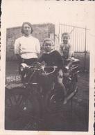 Foto Photo (6 X 8,5 Cm) Brommer Motor Moto Motorrad - Motorbikes