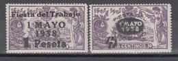 1938 Edifil Nº 761 / 762   /*/ - 1931-Hoy: 2ª República - ... Juan Carlos I