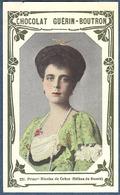 Chromo Chocolat Guerin-Boutron Livre D'or Célébrités Contemporaines - 231 Princesse Nicolas De Grèce Hélène De Russie - Guérin-Boutron