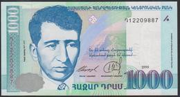 Armenia 1000 Dram 1999 P45 UNC - Arménie