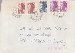 LSC 1986 - Cachet  Hexagonal - Villeneuve St Georges (Val De Marne) - Marcophilie (Lettres)