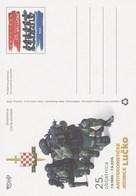 Croatie Entier Postal 2015 - Croatia