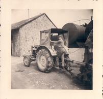 Foto Photo (7 X 7 Cm) Tractor Tracteur Traktor - Trucks, Vans &  Lorries