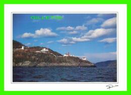 LA POINTE-NOIRE, QUÉBEC -AU FIL DE CHARLEVOIX, LE PHARE À L'ENTRÉE DU FJORD SAGUENAY - CYCLOPE - - Saguenay