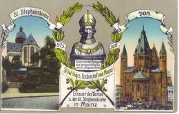 MILITARIA  1919 -Allemagne - MAINZ   La Cathédrale .-  écrite  -  (* Envoi Groupé) - War 1914-18
