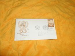 ENVELOPPE FDC WORLD HEALTH ORGANIZATION / CACHETS UNITED NATIONS NEW YORK DE 1956../ CACHETS + TIMBRE.. - New-York - Siège De L'ONU