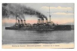 (22272-00) Marine De Guerre - Edgard Quinet - Croiseur De 1ere Classe - Warships