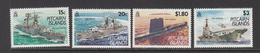 1993 Pitcairn Royal Navy Military Ship  Complete Set Of 4 MNH - Stamps