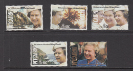 1992 Pitcairn QEII Accession  Complete Set Of 5 MNH - Stamps