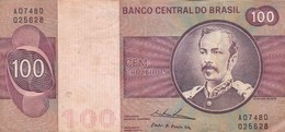 CEM CRUZEIROS, FLORIANO PEIXOTO, BRASIL. CIRCA 1950s-BILLETE BANKNOTE BILLET-BLEUP - Brésil