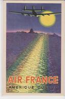Old Pc Brasil Air France Perceval - 1946-....: Modern Era