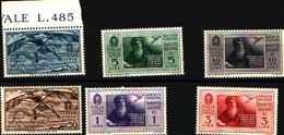 73456)- ITALIA-Pro Società Nazionale Dante Alighieri - POSTA AEREA - 14 Marzo 1932 R-MNH** - 1900-44 Victor Emmanuel III.