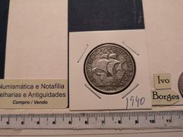 PORTUGAL 10$00 1940  SILVER - Portugal