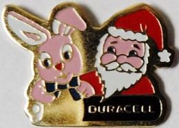 DURACELL - Père Noël Et Lapin - Noël
