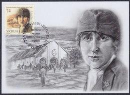 Serbia 2015 British Heroines Of The First World War In Serbia, Doctor Isabel Emslie Galloway Hutton, CM - Serbia
